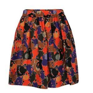 Marc by Marc Jacobs sz S flamingo multicolor skirt